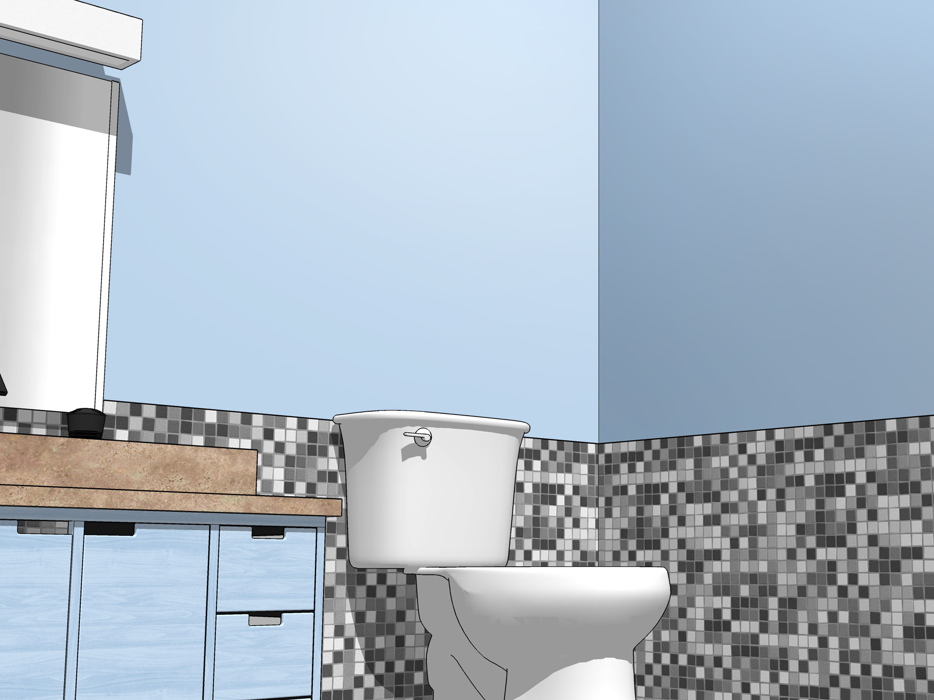 Bathroom Paints How To Paint A Bathroom 15 Steps With Pictures Wikihow
