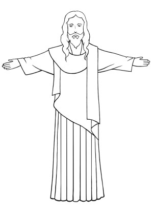 jesus draw drawing simple christ sketch cross wikihow drawings christianity easy step line google painting christian he center sketches doodle