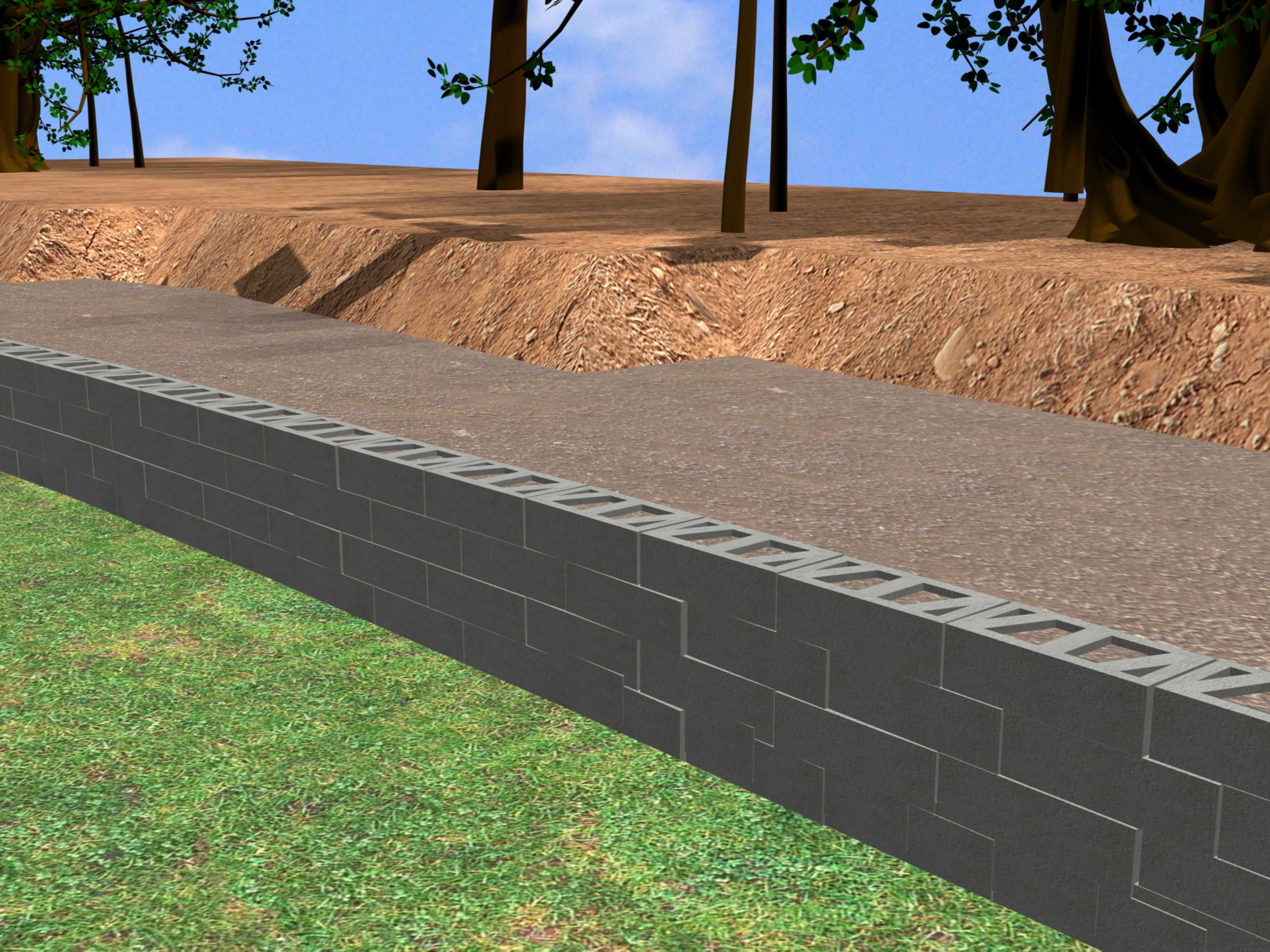 How To Construct A Block Retaining Wall: 14 Steps (with