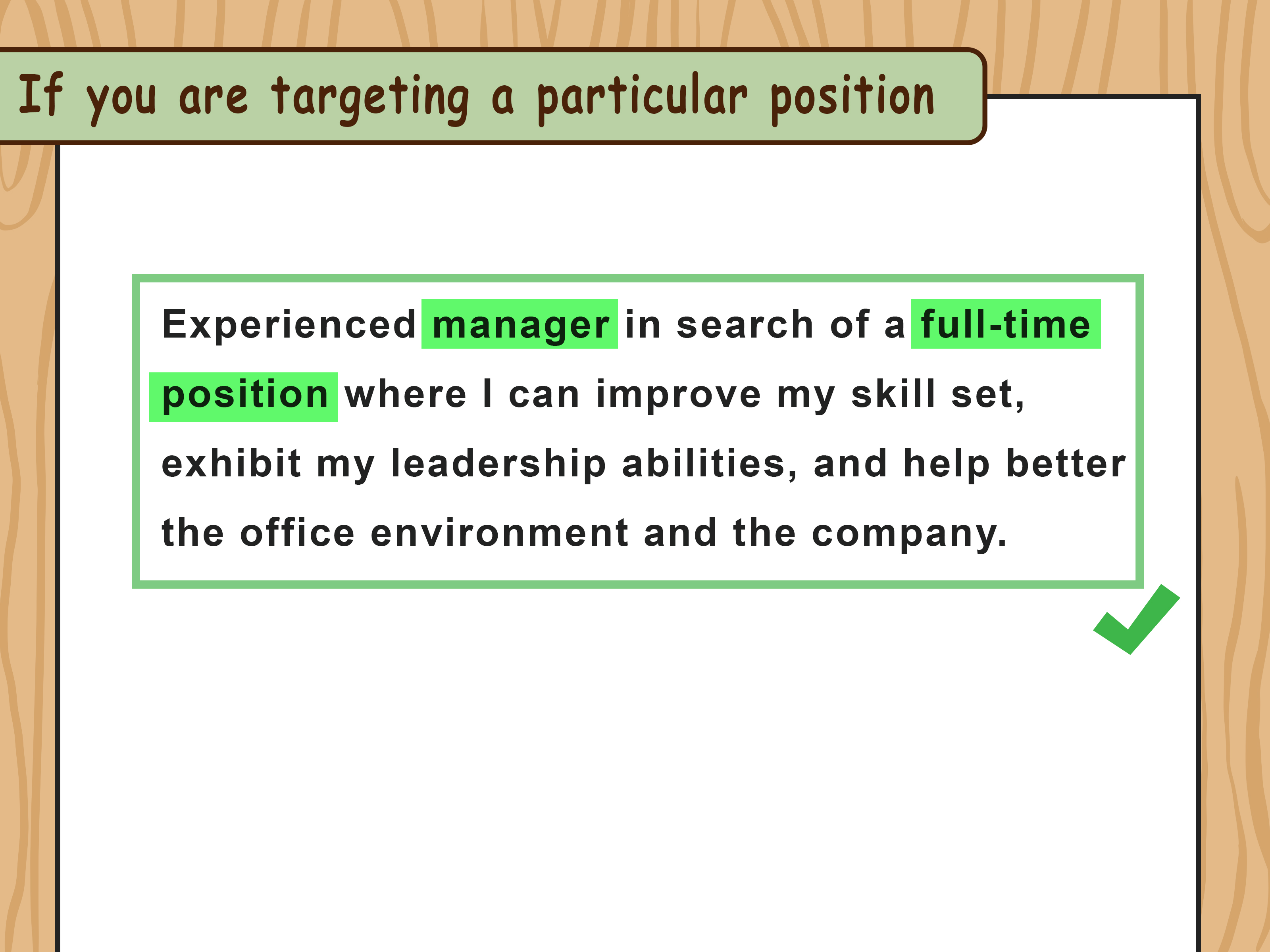 Best Way To Write An Objective For A Resume How To Write Resume Objectives With Examples Wikihow