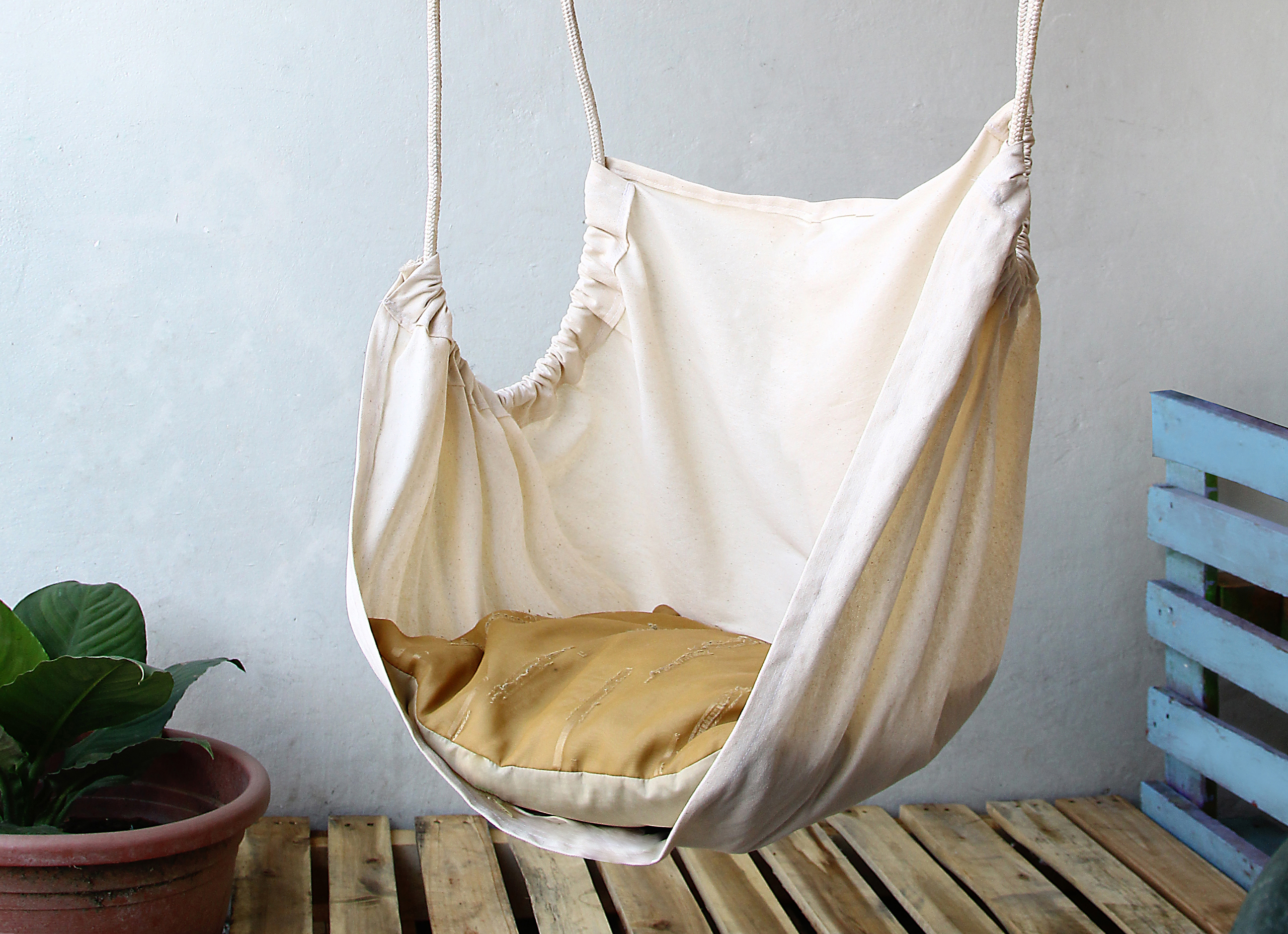 How To Make A Hammock Chair How To Make A Hammock Chair 14 Easy Steps With Pictures