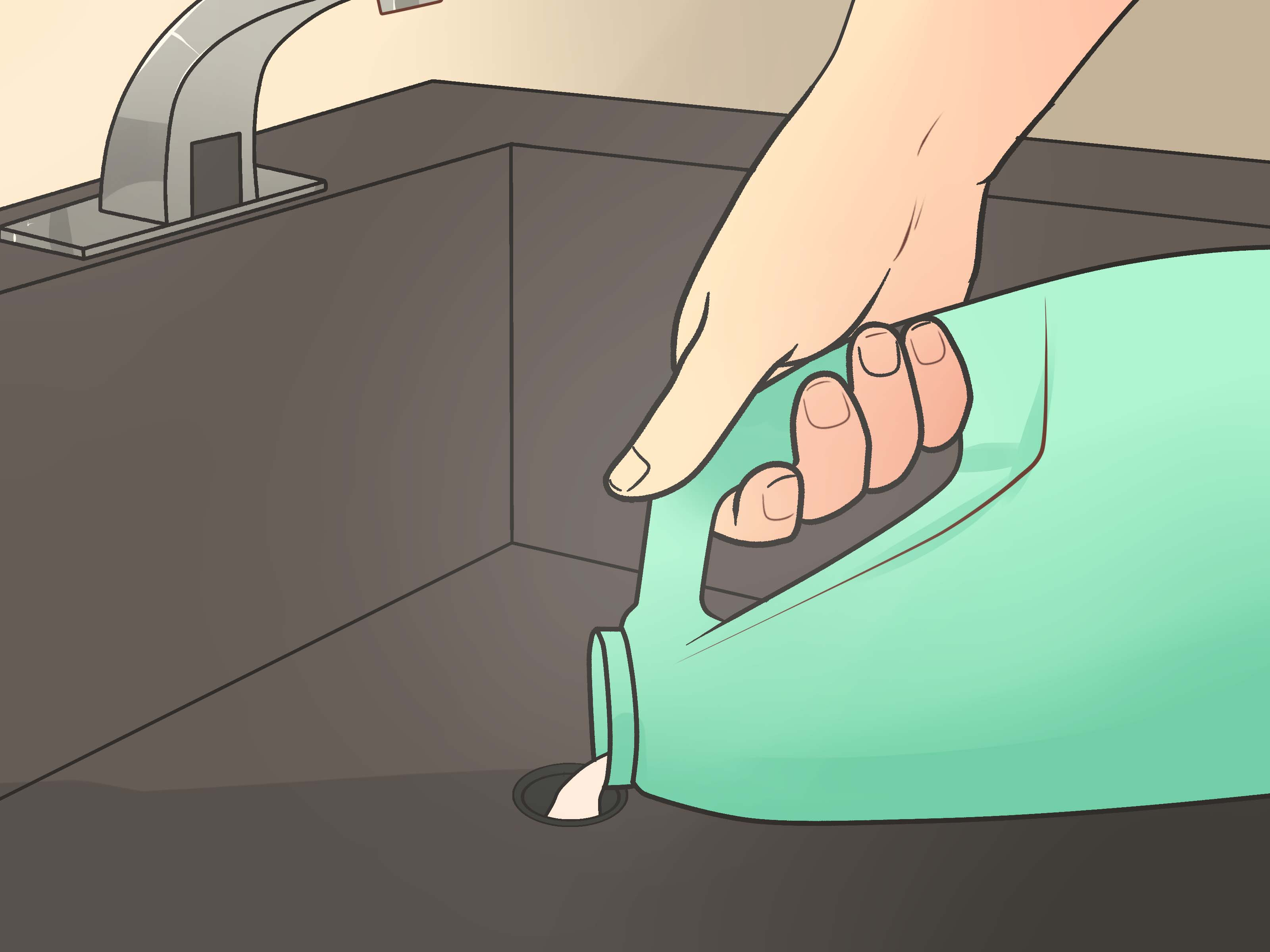 How To Unclog A Bathroom Sink With Standing Water How To Unclog A Sink 10 Steps With Pictures Wikihow