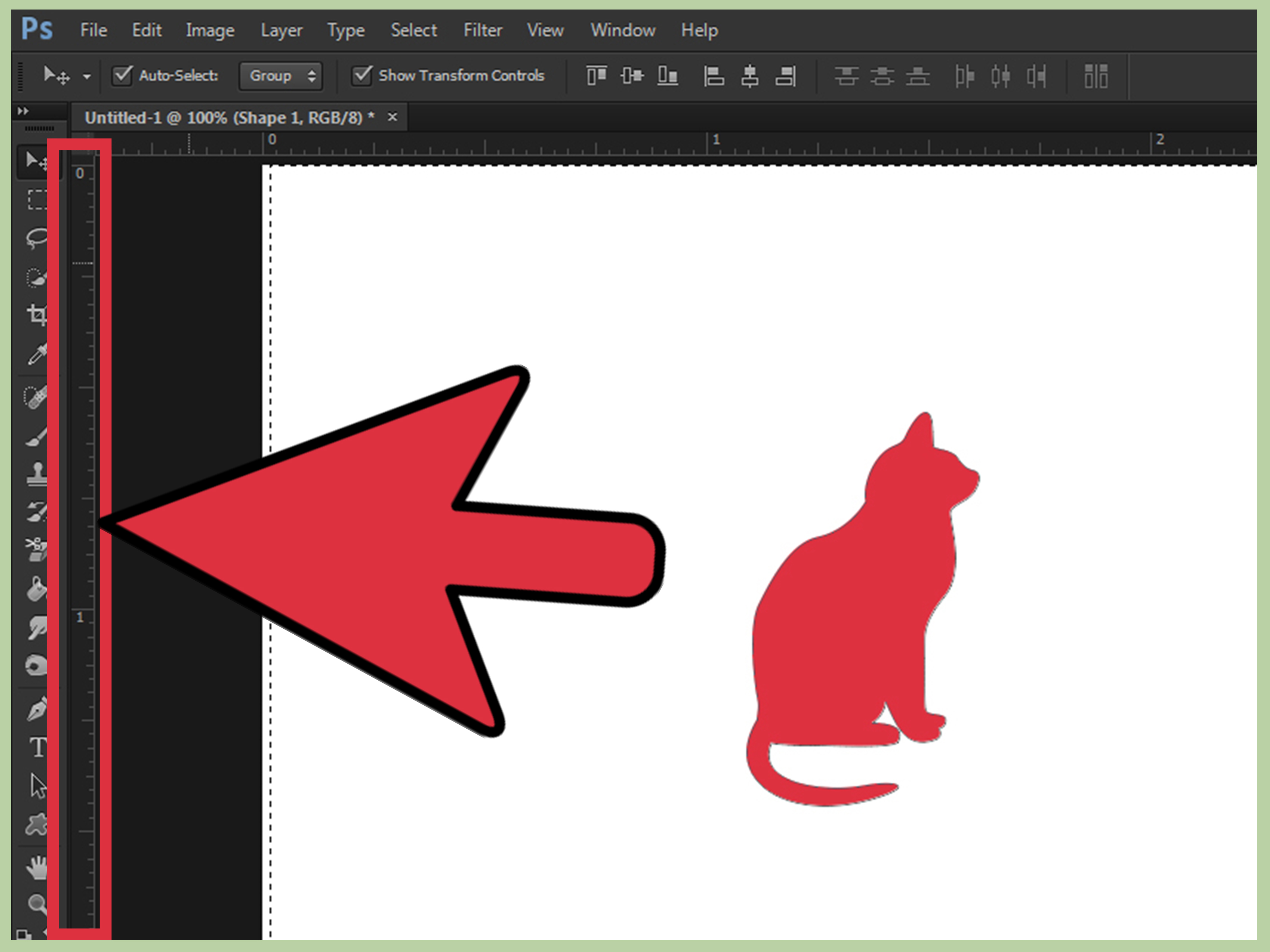 5 Simple Steps To Centre Objects In Photoshop