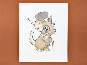 draw mouse drawings mice transformice steps