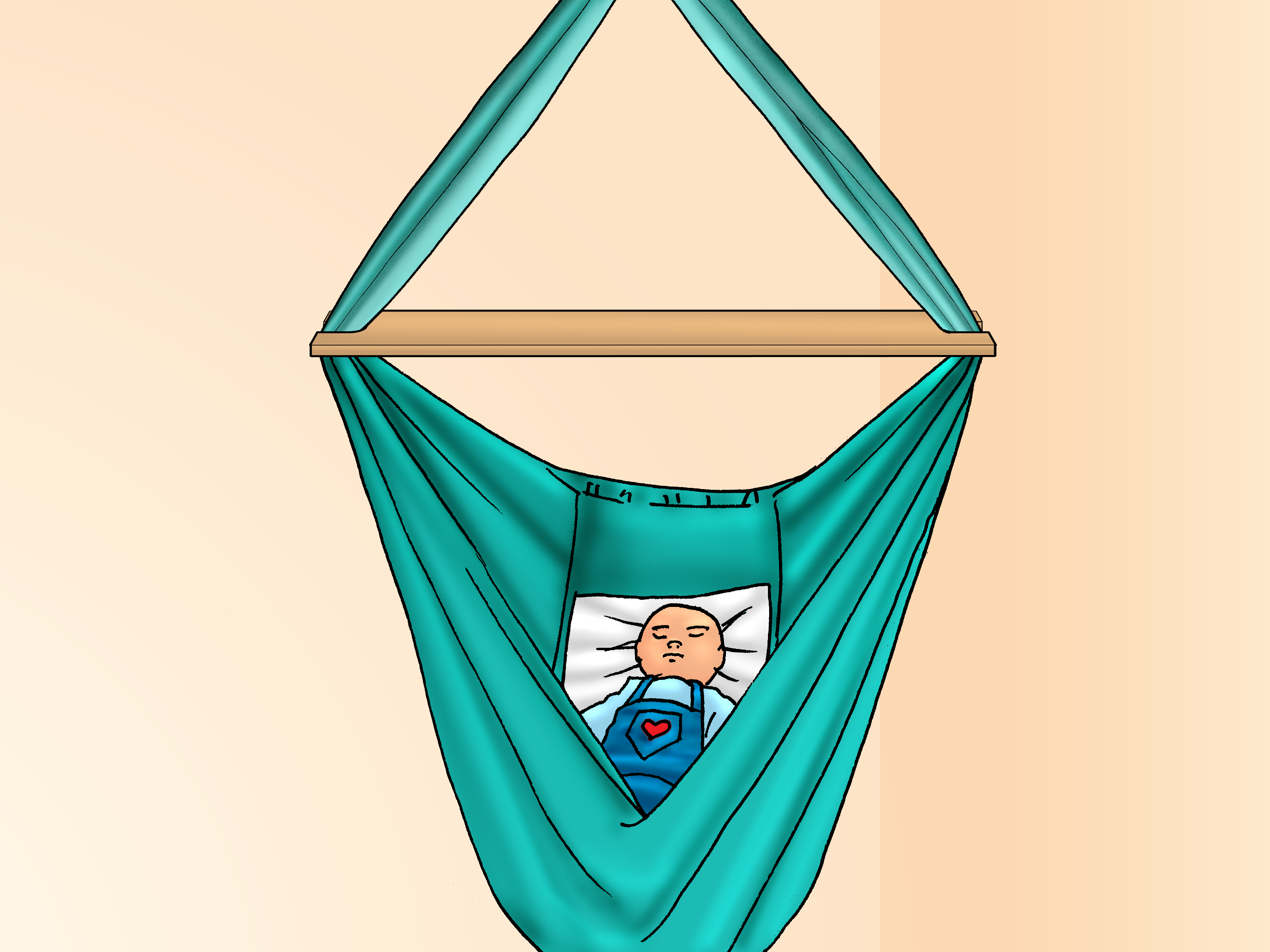 How To Make A Hammock Chair How To Make A Baby Hammock Swing 11 Steps With Pictures