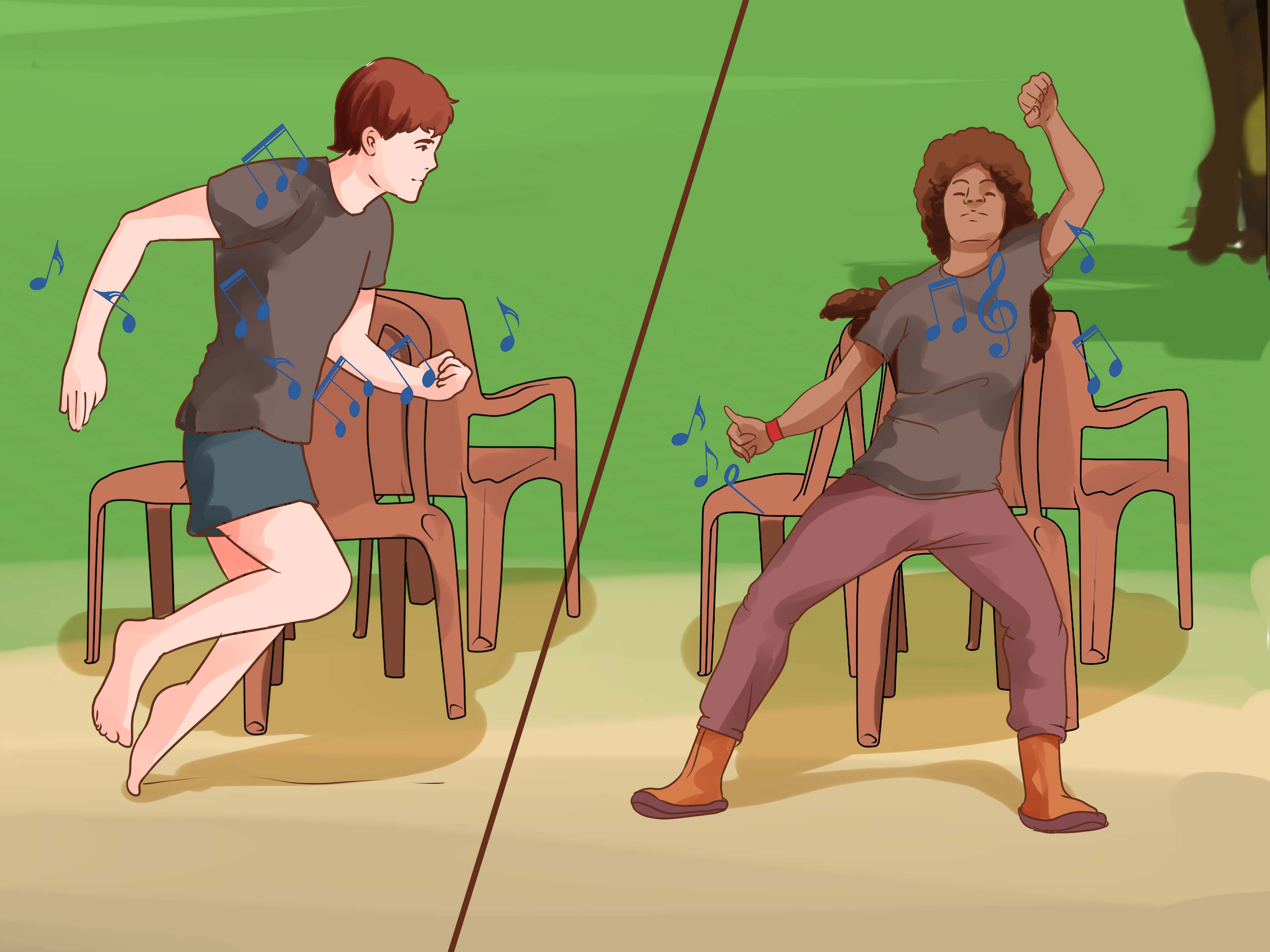 Music Chair How To Play Musical Chairs 11 Steps With Pictures Wikihow