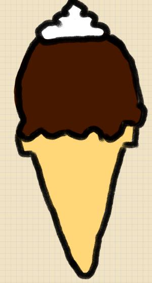 ice cone cream draw simple steps uploaded ago