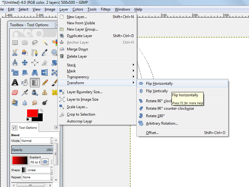How To Begin Using The Pen Tool In GIMP: 5 Steps (with