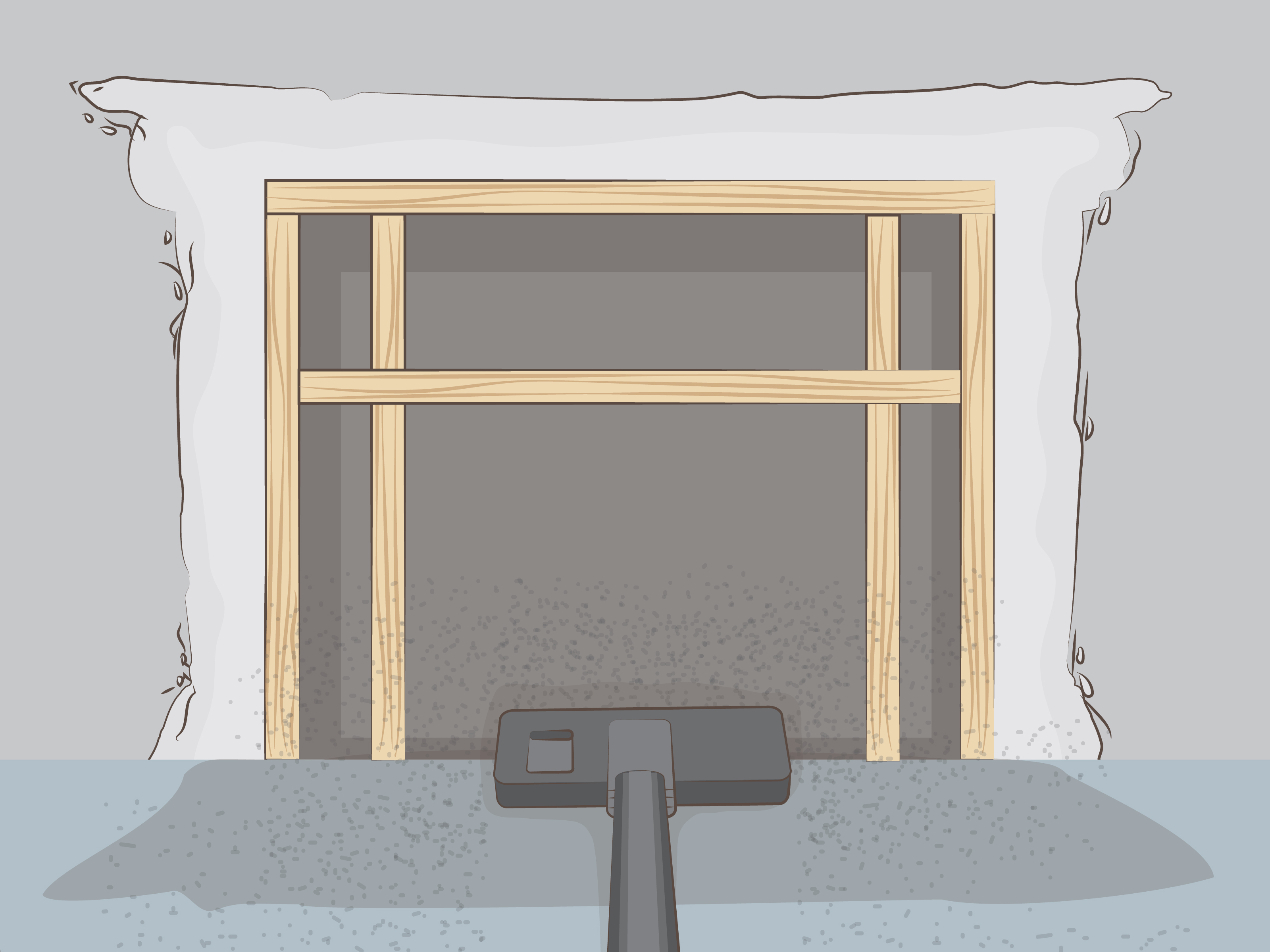 Removing Gas Fireplace Insert How To Remove A Fireplace Insert (with Pictures) - Wikihow