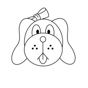 dog draw face step wikihow