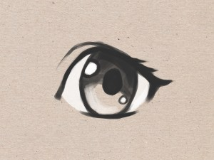 eyes anime draw simple step easy drawing wikihow eye cartoon steps manga gacha ways drawings disegno basic peinture dessin sketches