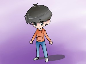 boy draw step chibi anime drawing clothes eyes drawings male wikihow easy face animated