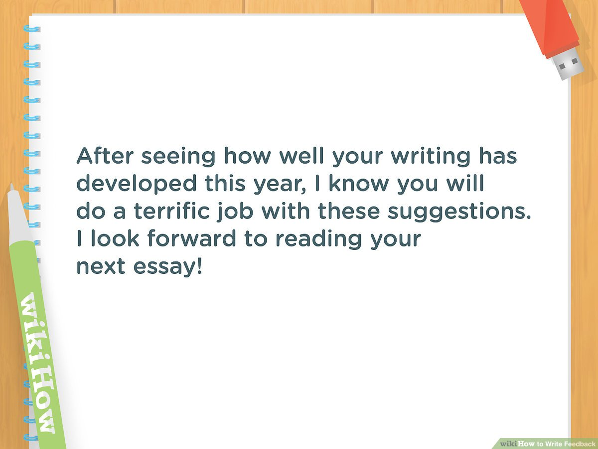 Examples Of Critical Appraisal Essays 3 Ways To Write Feedback Wikihow