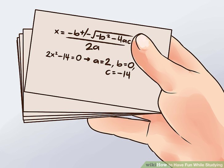 How To Have Fun While Studying (with Pictures)  Wikihow