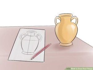 draw step drawing object wikihow
