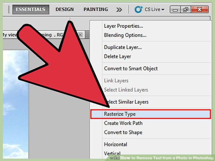 3 Ways To Remove Text From A Photo In Photoshop Wikihow