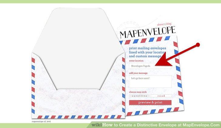 How To Create A Distinctive Envelope At Mapenvelopecom 7