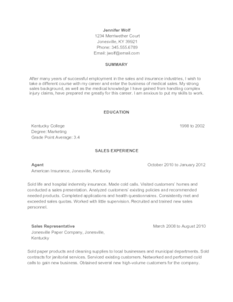 How To Write A Functional Resume (with Sample Resumes