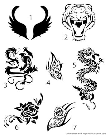 How To Make Sharpie Tattoos Last : sharpie, tattoos, Create, Sharpie, Tattoo, WikiHow