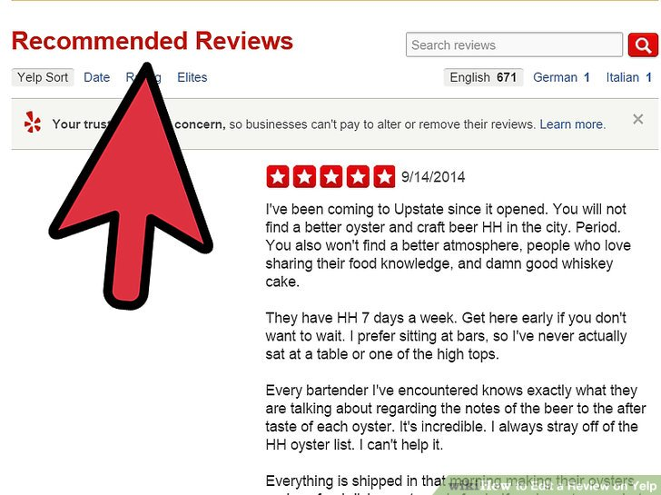How To Edit A Review On Yelp 11 Steps (with Pictures
