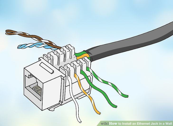 How To Install An Ethernet Jack In A Wall: 14 Steps