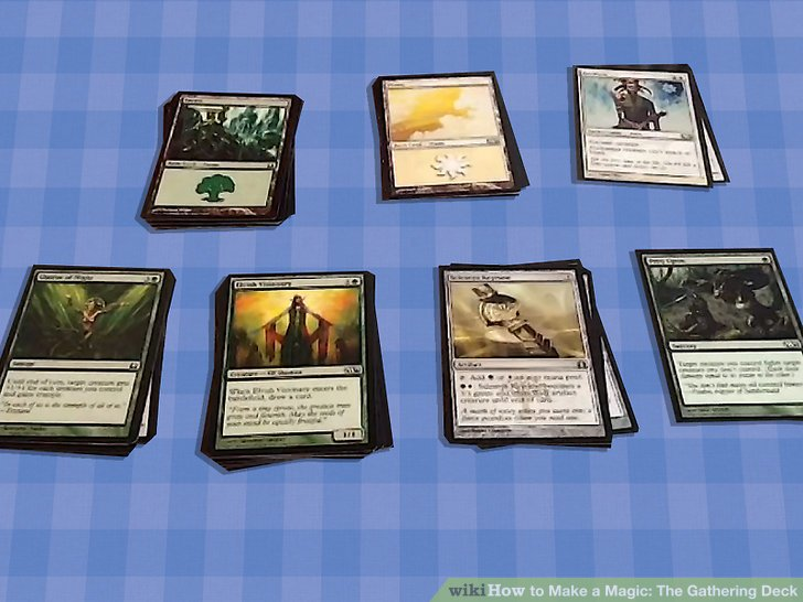 How To Make A Magic The Gathering Deck 13 Steps (with
