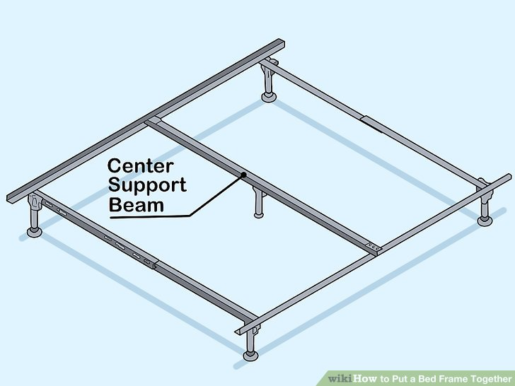 How To Put A Bed Frame Together: 14 Steps (with Pictures