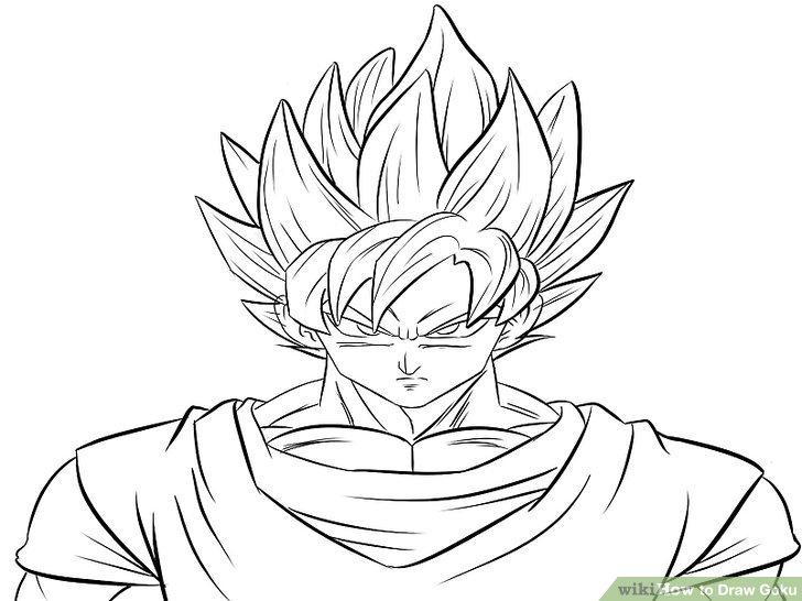 How To Draw Goku (with Pictures)