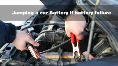 Photo of Jumping a car Battery if battery failure