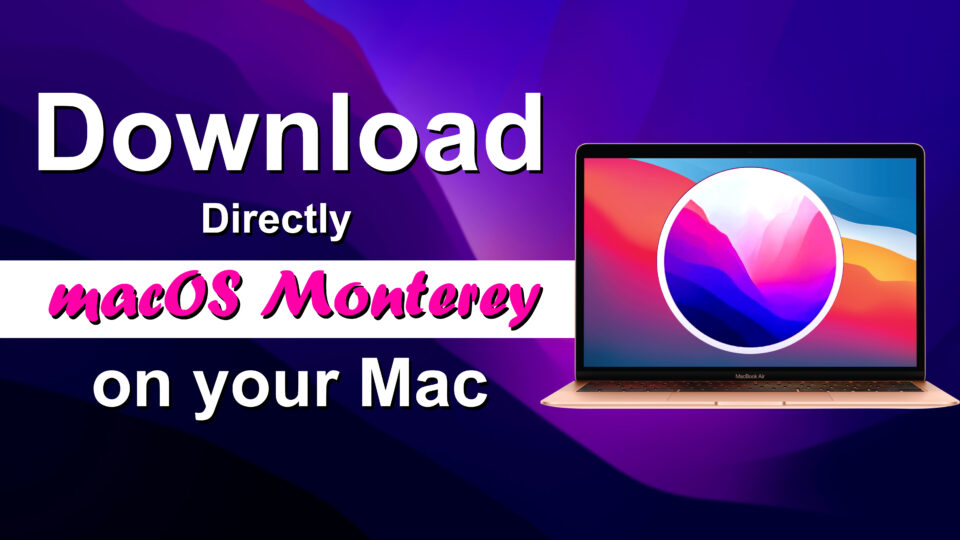 Os/2 is an operating system for pcs developed originally by microsoft corporation and ibm, but sold and managed s. How To Directly Download Macos Monterey On Your Mac