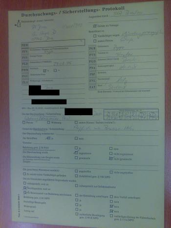 Excerpt raid documentation