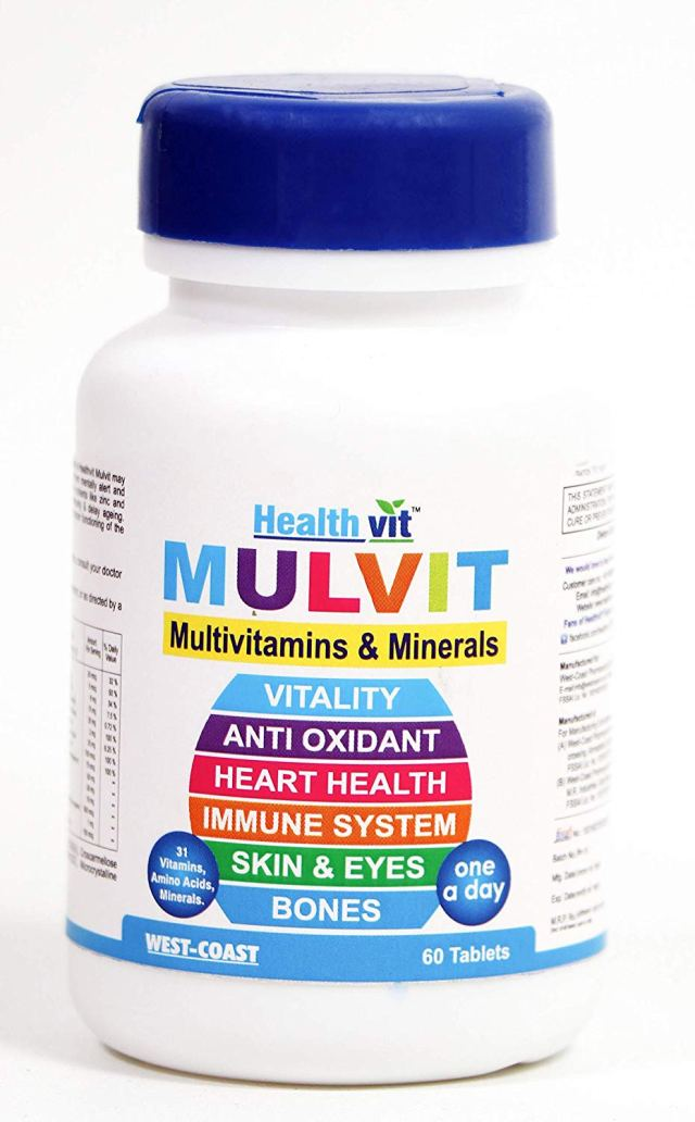 Healthvit Mulvit Multivitamins and Minerals