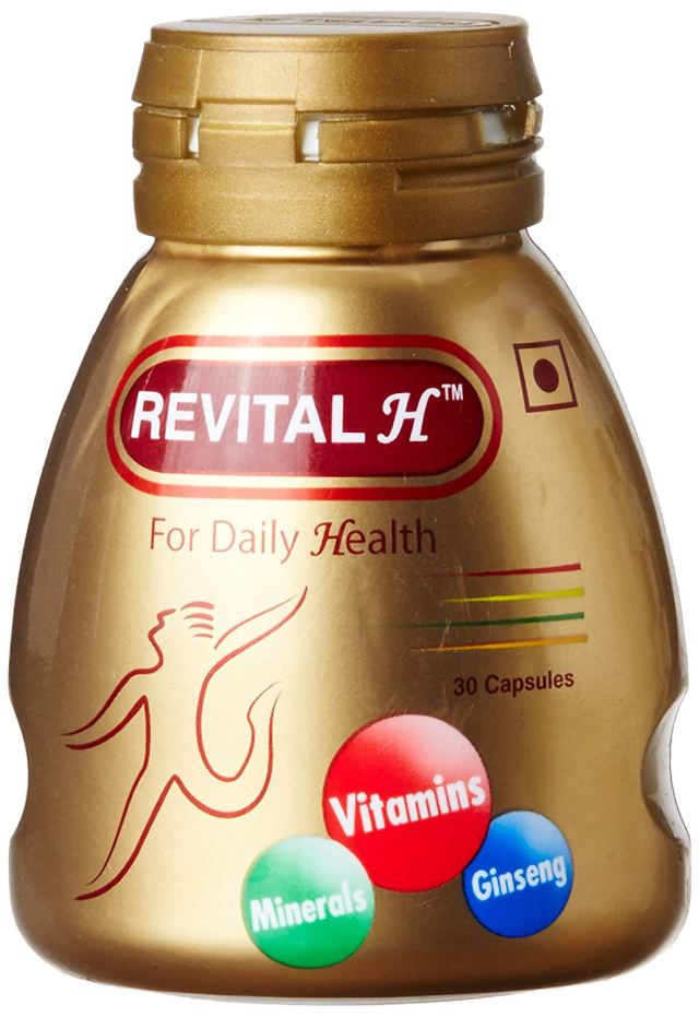 Revital H For Daily Health Capsules