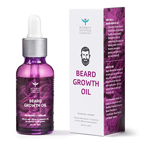 Bombay Shaving Beard Growth Oil