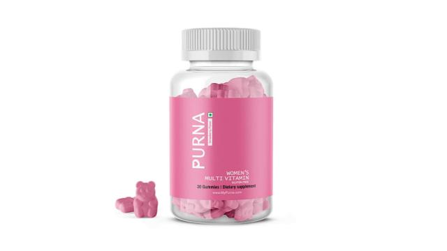 Purna Immunity Multivitamin Strawberry Gummies for Women