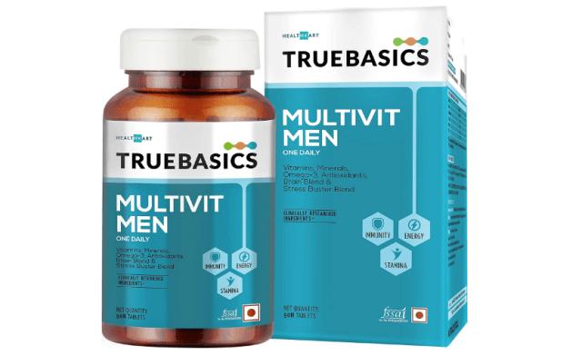 TrueBasics Multivit Men One Daily, Multivitamins