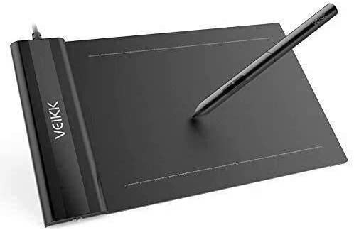 VEIKK S640 V2 Graphics Drawing Tablet 6x4 inch OSU Pen Tablet with Battery-Free