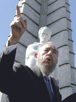 Castro, 2003. Photo by Agência Brasil, CC BY 3.0 BR.