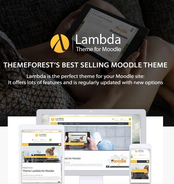 Lambda Responsive Moodle Theme Latest Review