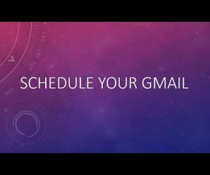 Schedule Email In Gmail By Using Google Sheet