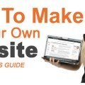 3 Steps to Build Your Own Website