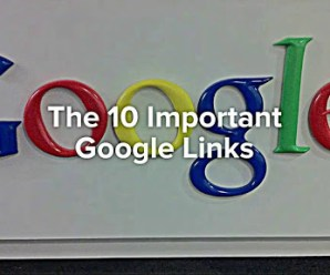 10 Website links which uncover everything Google thinks about you