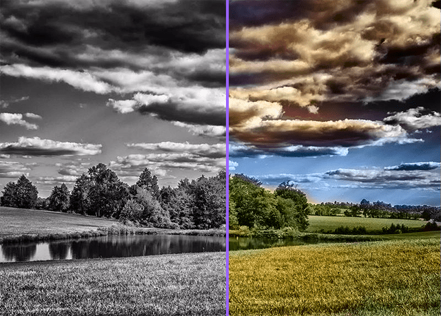 Color Black and White Photos