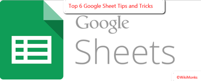 Google Sheet Tips