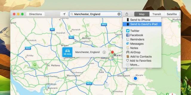 Transfer Maps from Desktop