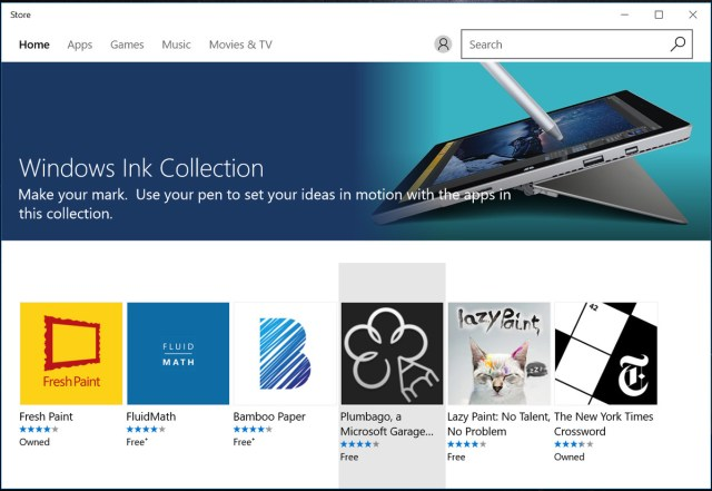 Windows ink app