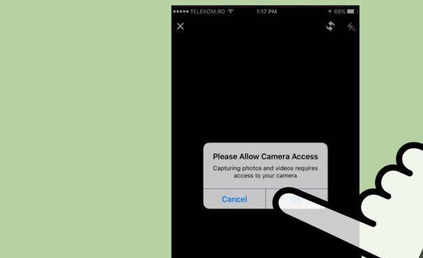 Allow Facebook to access your webcam
