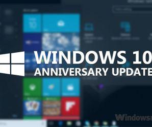 Uninstall Anniversary Update Windows 10