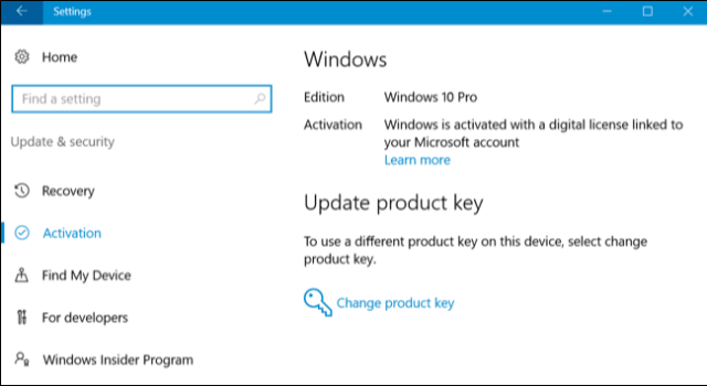 Reinstall Windows10