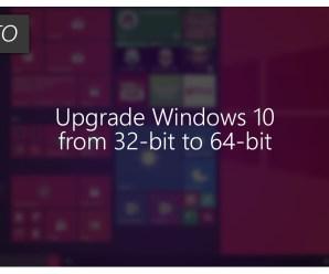 How to Change 32-bit Windows 10 in to 64-bit Windows 10